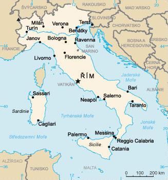 ITÁLIE 2016